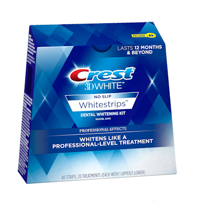 crest pro whitening strips instructions