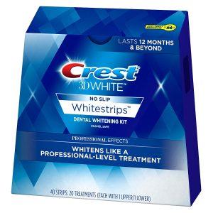 Crest 3D white strips
