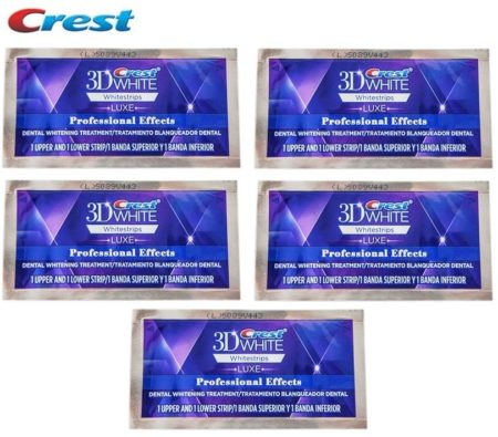 Crest Professional Effects 3d Luxe Whitening Strips Uk Teeth