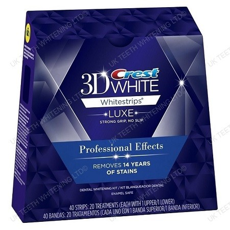 Crest Professional Effects 3d Luxe White Strips Uk Teeth Whitening